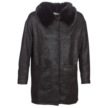 Ruhák Női Kabátok Molly Bracken QUIEN Fekete