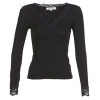 Ruhák Női Hosszú ujjú pólók Morgan TRACY Fekete