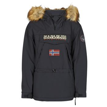 Ruhák Női Parka kabátok Napapijri SKIDOO Fekete