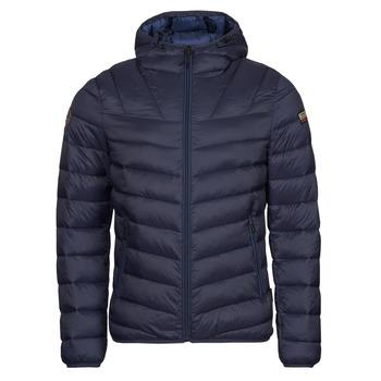Ruhák Férfi Steppelt kabátok Napapijri AERONS Tengerész