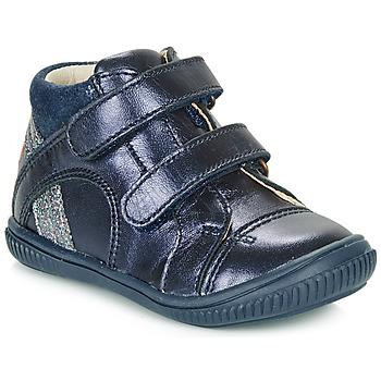 Cipők Lány Magas szárú edzőcipők GBB ROXANE Kék