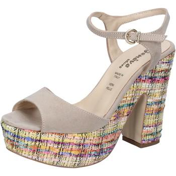 Cipők Női Szandálok / Saruk Geneve Shoes BZ890 Bézs