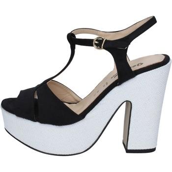 Cipők Női Szandálok / Saruk Geneve Shoes BZ897 Fekete
