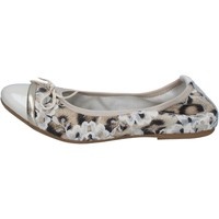 Cipők Női Balerina cipők  Crown balerina cipő BZ939 Bézs