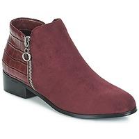 Cipők Női Csizmák Moony Mood JADE Bordó