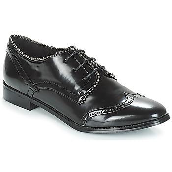Cipők Női Oxford cipők Moony Mood JENNY Fekete