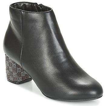 Cipők Női Bokacsizmák Moony Mood JAPSERA Fekete