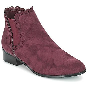 Cipők Női Csizmák Moony Mood JERMA Padlizsán