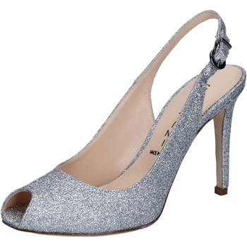 Cipők Női Szandálok / Saruk Capitini sandali argento glitter BZ492 Argento