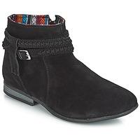 Cipők Női Csizmák Minnetonka DIXON BOOT Fekete