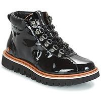 Cipők Női Csizmák Art TORONTO Fekete