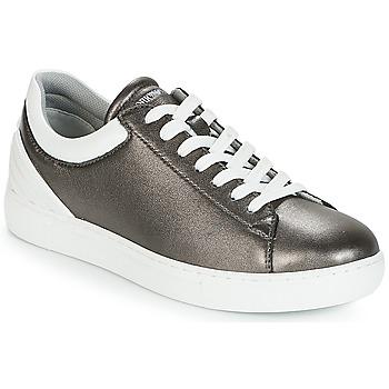 Cipők Női Rövid szárú edzőcipők Emporio Armani BRUNA Ónötvözet
