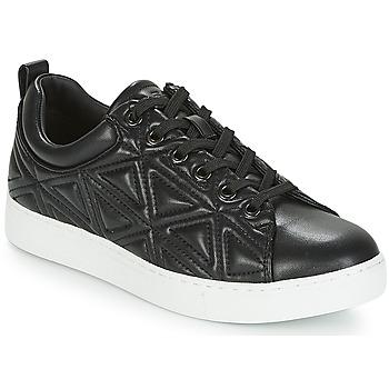 Cipők Női Rövid szárú edzőcipők Emporio Armani DELIA Fekete