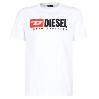 Ruhák Férfi Rövid ujjú pólók Diesel T JUST DIVISION Fehér