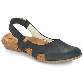Cipők Női Szandálok / Saruk El Naturalista WAKATAUA Fekete