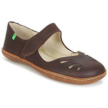 Shoes Női Balerina cipők / babák El Naturalista EL VIAJERO Barna