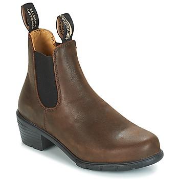 Cipők Női Csizmák Blundstone WOMEN'S HEEL CHELSEA BOOT 1673 Barna
