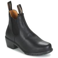 Cipők Női Bokacsizmák Blundstone WOMEN'S HEEL BOOT Fekete
