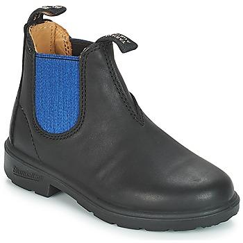 Cipők Gyerek Csizmák Blundstone KIDS BOOT Fekete  / Kék