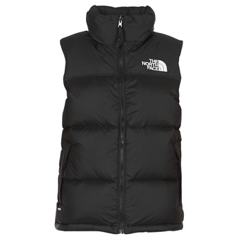 Ruhák Női Steppelt kabátok The North Face NUPTSE VEST Fekete