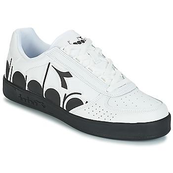 Cipők Férfi Rövid szárú edzőcipők Diadora B.ELITE BOLDER Fehér / Fekete