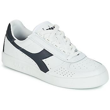 Cipők Rövid szárú edzőcipők Diadora B.ELITE Fehér / Tengerész