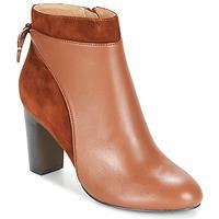 Cipők Női Bokacsizmák Jonak BEAR Konyak
