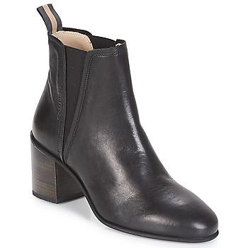 Cipők Női Bokacsizmák Marc O'Polo CAROLINA Fekete