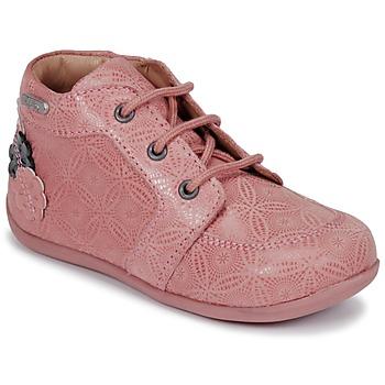 Cipők Lány Csizmák Aster DILA Rózsaszín