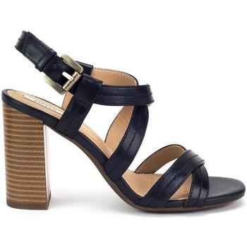 Cipők Női Szandálok / Saruk Geox Audalies High Sand Fekete