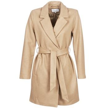 Ruhák Női Kabátok Vila VILUS Teve