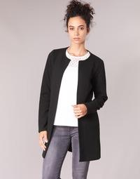 Ruhák Női Kabátok / Blézerek Vila VINAJA LONG Fekete