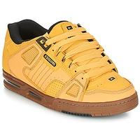Cipők Férfi Rövid szárú edzőcipők Globe SABRE Citromsárga