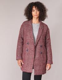 Ruhák Női Kabátok Le Temps des Cerises LADY Bordó