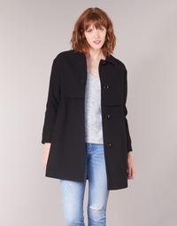 Ruhák Női Kabátok Sisley FAREDA Fekete
