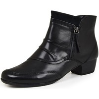 Cipők Női Bokacsizmák Jana 25331 Fekete