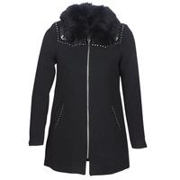 Ruhák Női Kabátok Desigual COLLINE Fekete