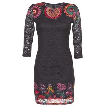 Ruhák Női Rövid ruhák Desigual DARINA Fekete
