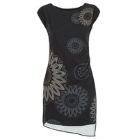 Ruhák Női Rövid ruhák Desigual SANDRINI Fekete