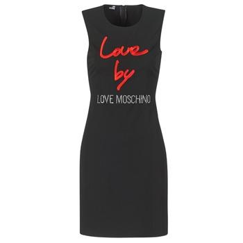 Ruhák Női Rövid ruhák Love Moschino CARININA Fekete