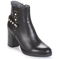 Cipők Női Bokacsizmák Metamorf'Ose DAMOISEAU Fekete