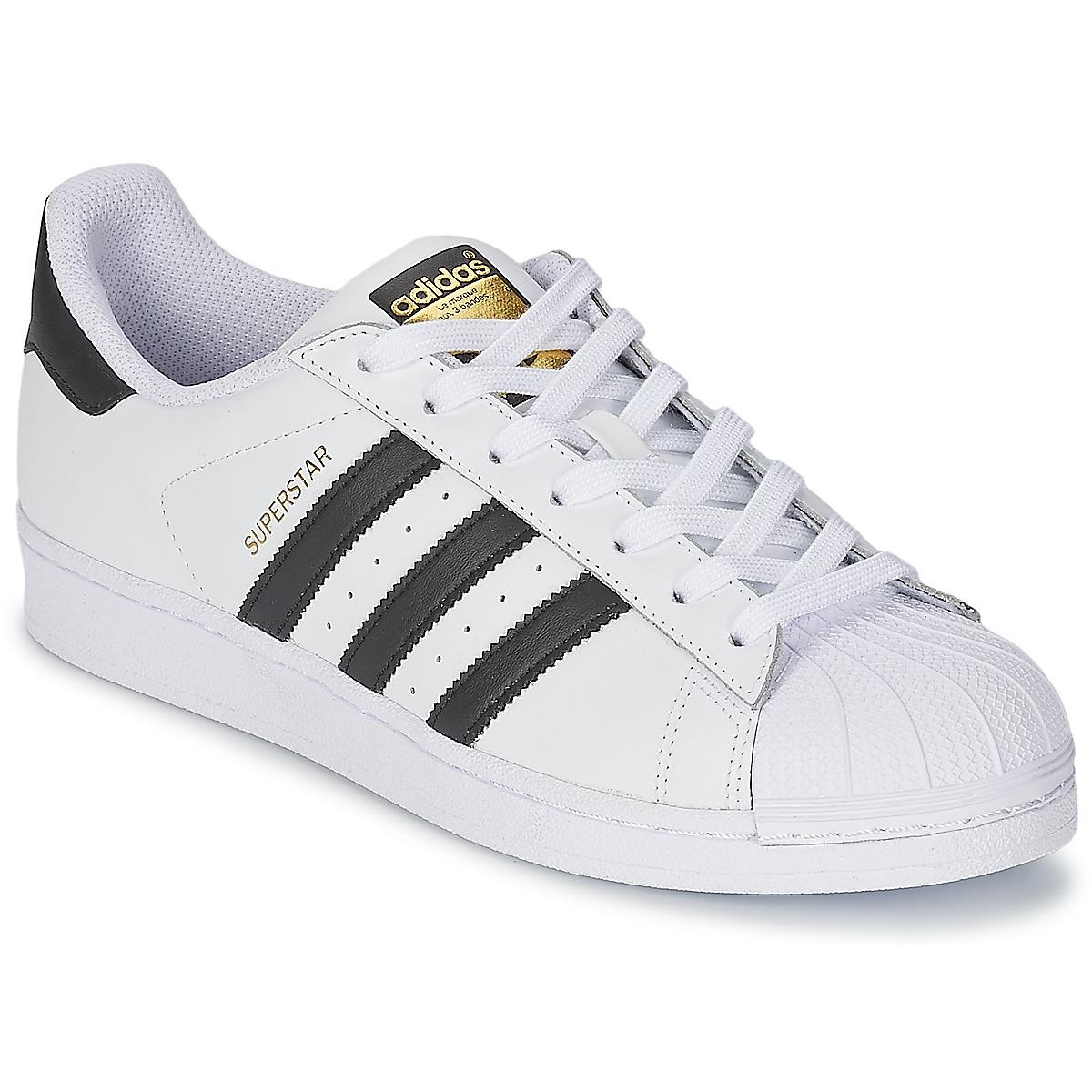 99547c2577 adidas Originals SUPERSTAR Fehér / Fekete - Ingyenes Kiszállítás |  SPARTOO.HU ! - Cipők Rövid szárú edzőcipők 29 163 Ft