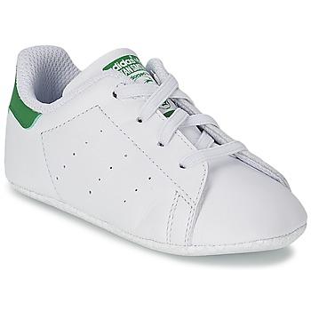 Cipők Gyerek Rövid szárú edzőcipők adidas Originals STAN SMITH GIFTSET Fehér / Zöld
