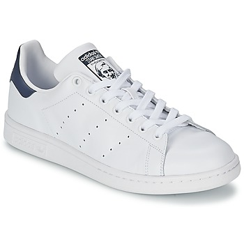 Cipők Rövid szárú edzőcipők adidas Originals STAN SMITH Fehér / Kék