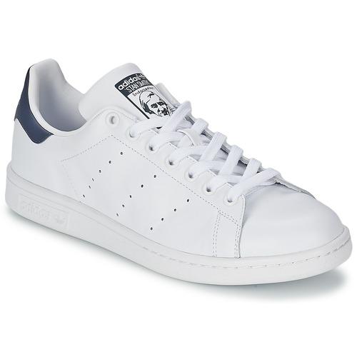 adidas Originals STAN SMITH Fehér   Kék - Ingyenes Kiszállítás a ... e8d1e919d1
