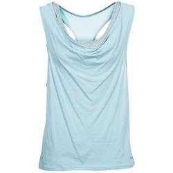 material Női Trikók / Ujjatlan pólók Bench SKINNIE Kék