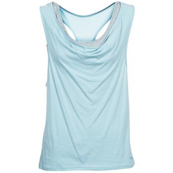 Ruhák Női Trikók / Ujjatlan pólók Bench SKINNIE Kék