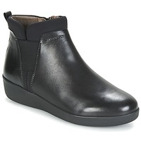 Cipők Női Csizmák Stonefly PASEO IV 5 NAPPA Fekete