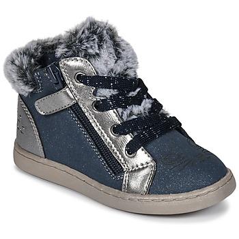 Cipők Lány Magas szárú edzőcipők Mod'8 OUMINOU Tengerész