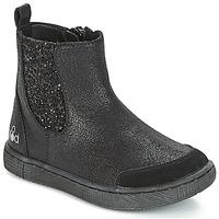 Cipők Lány Csizmák Mod'8 BLABLA Fekete